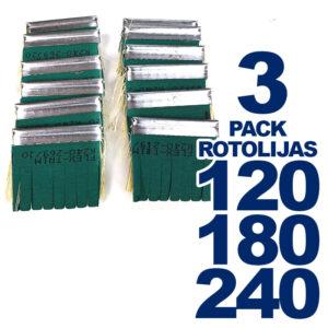 Pack de 3 Repuestos de Rotolijas – Flex-Trim