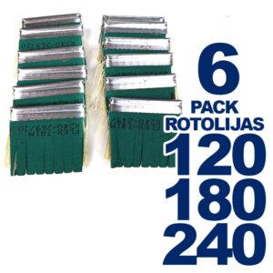 Pack de 6 Repuestos de Rotolijas – Flex-Trim
